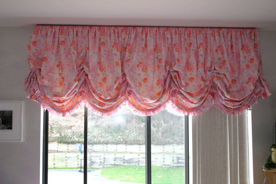 How To Make Balloon Shade Curtains Lace Balloon Curtains