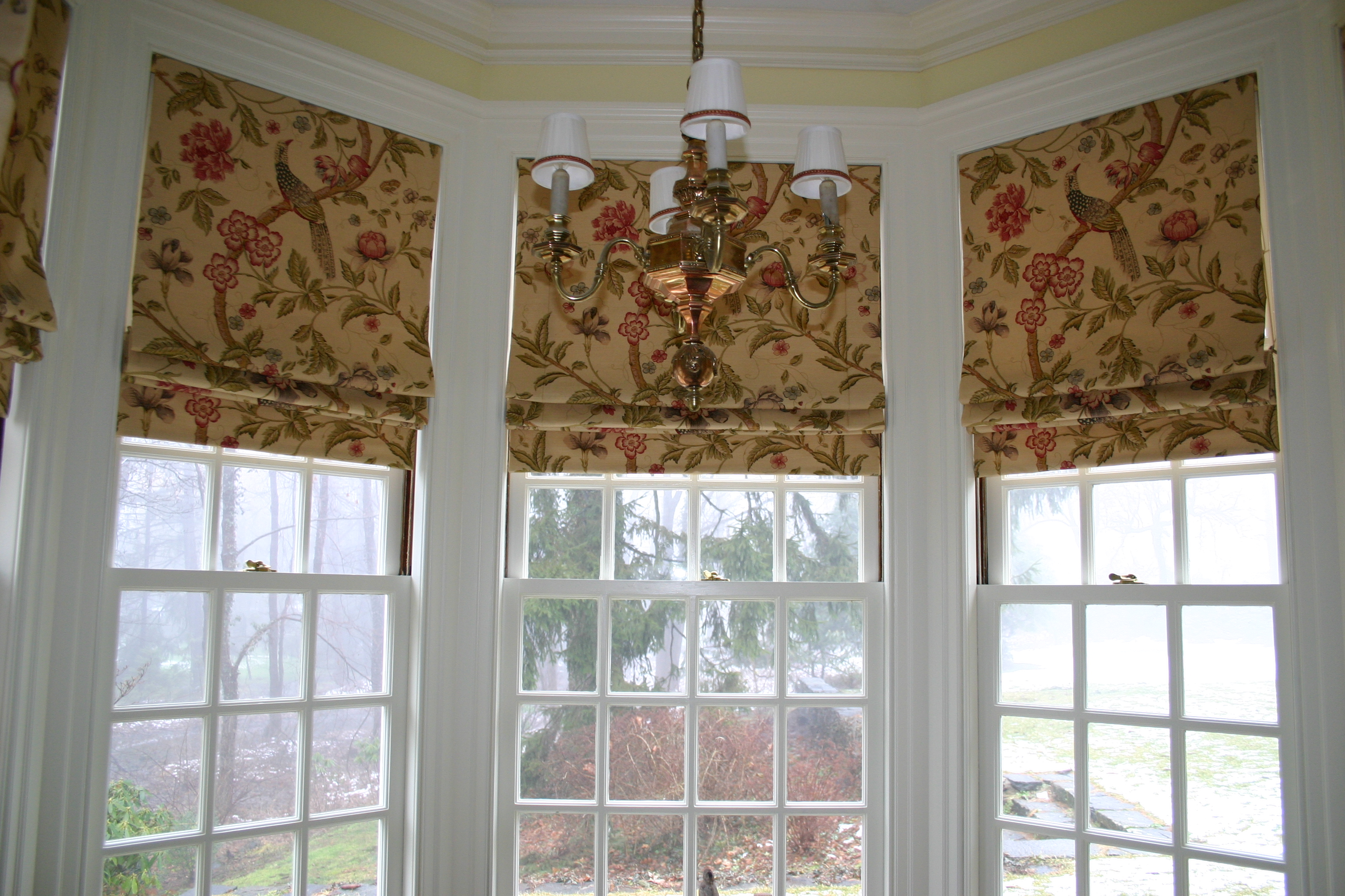 wooden window shades valance wood over roman faux from ideas shade blinds diy treatments